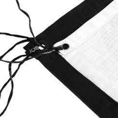 Rosco Grifflyon, 12' x 12', Black/White