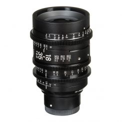 Sigma 18-35mm T2 Cine Zoom Lens with Canon EF Mount