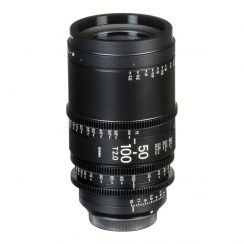Sigma 50-100mm T2 Cine Zoom Lens with Canon EF Mount