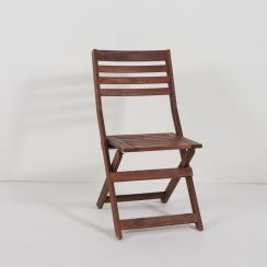 Applaro Foldable Wooden Chair