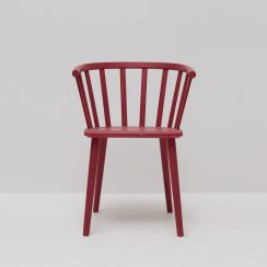 Country Style Wooden Chair - Custom Colours