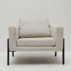 Light Grey Lounge Chair