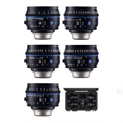 Zeiss CP.3 Compact Prime 7 Lens Kit - 18mm, 25mm, 28mm, 35mm, 50mm, 85mm, 100mm