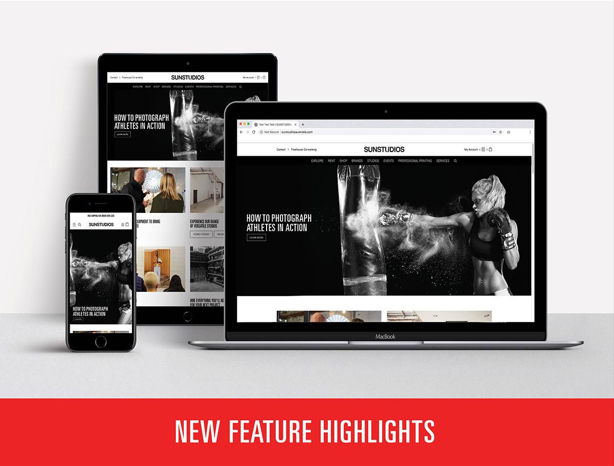 New website SUNSTUDIOS