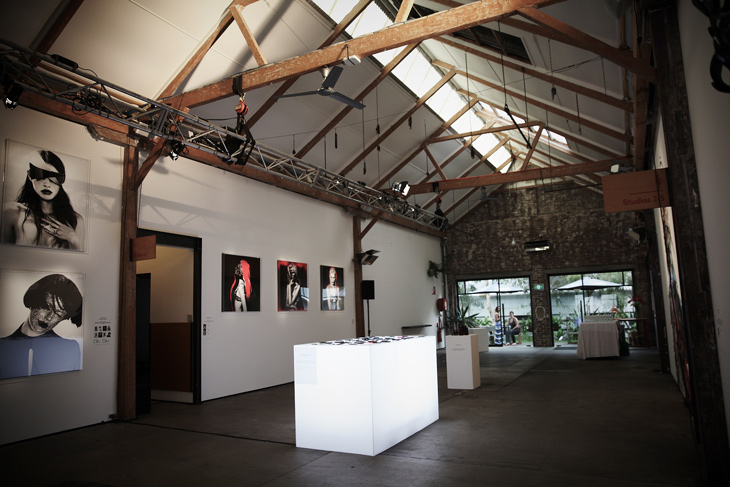 Sydney photographer Georges Antoni photography exhibition Wabi Sabi at SUNSTUDIOS Sydney 2012