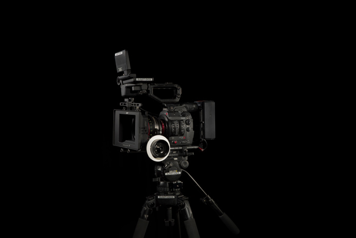 Arri cinema production kit for cinematography and beautiful composition