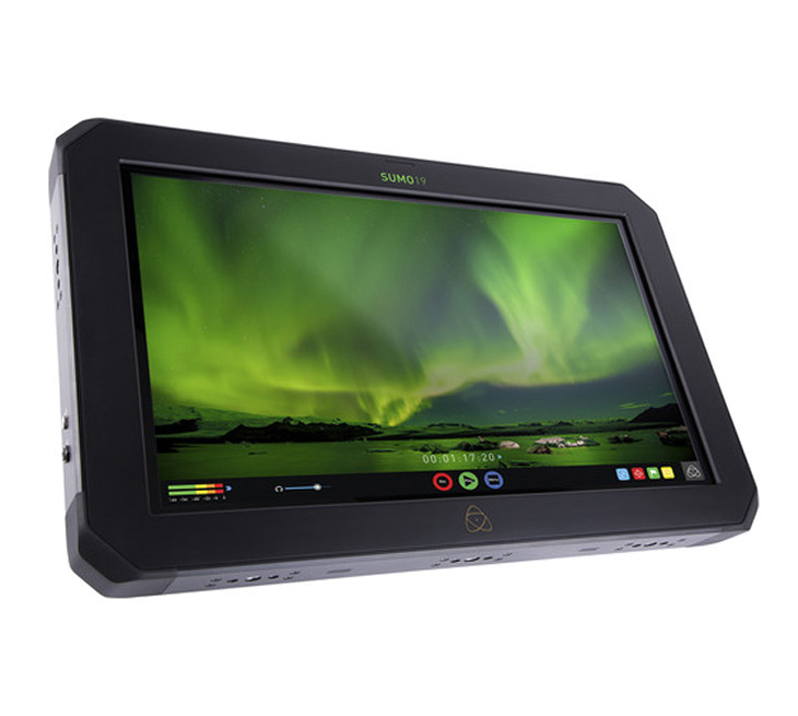 The Atomos Sumo19, a HDR monitor for use in studio or on location for film, cinema and motion.