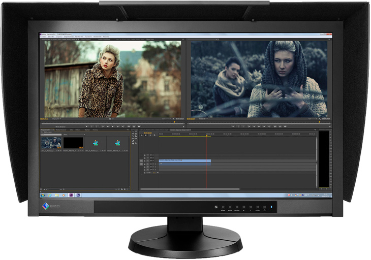 Eizo ColorEdge CG277 calibrated monitors for imaging professionals