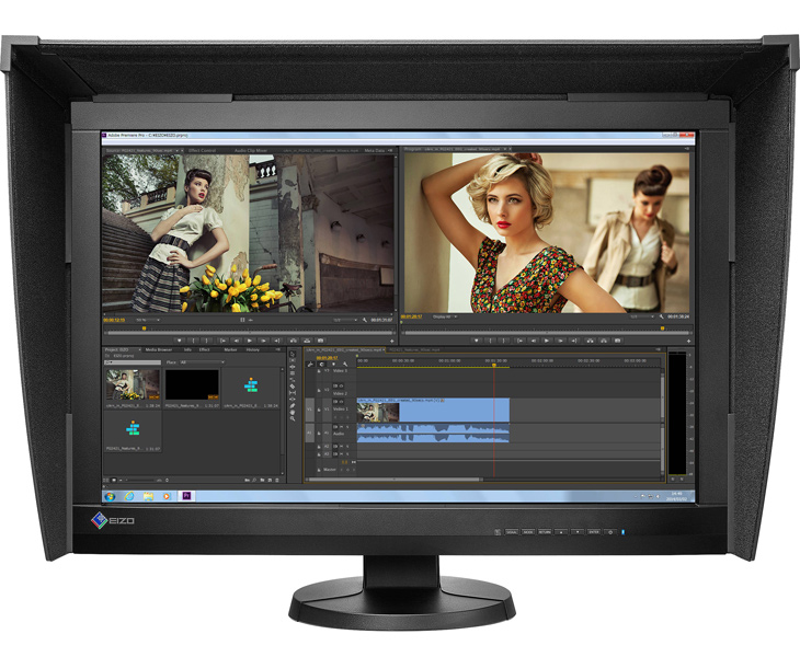 Eizo ColorEdge CG247 calibrated monitors for imaging professionals