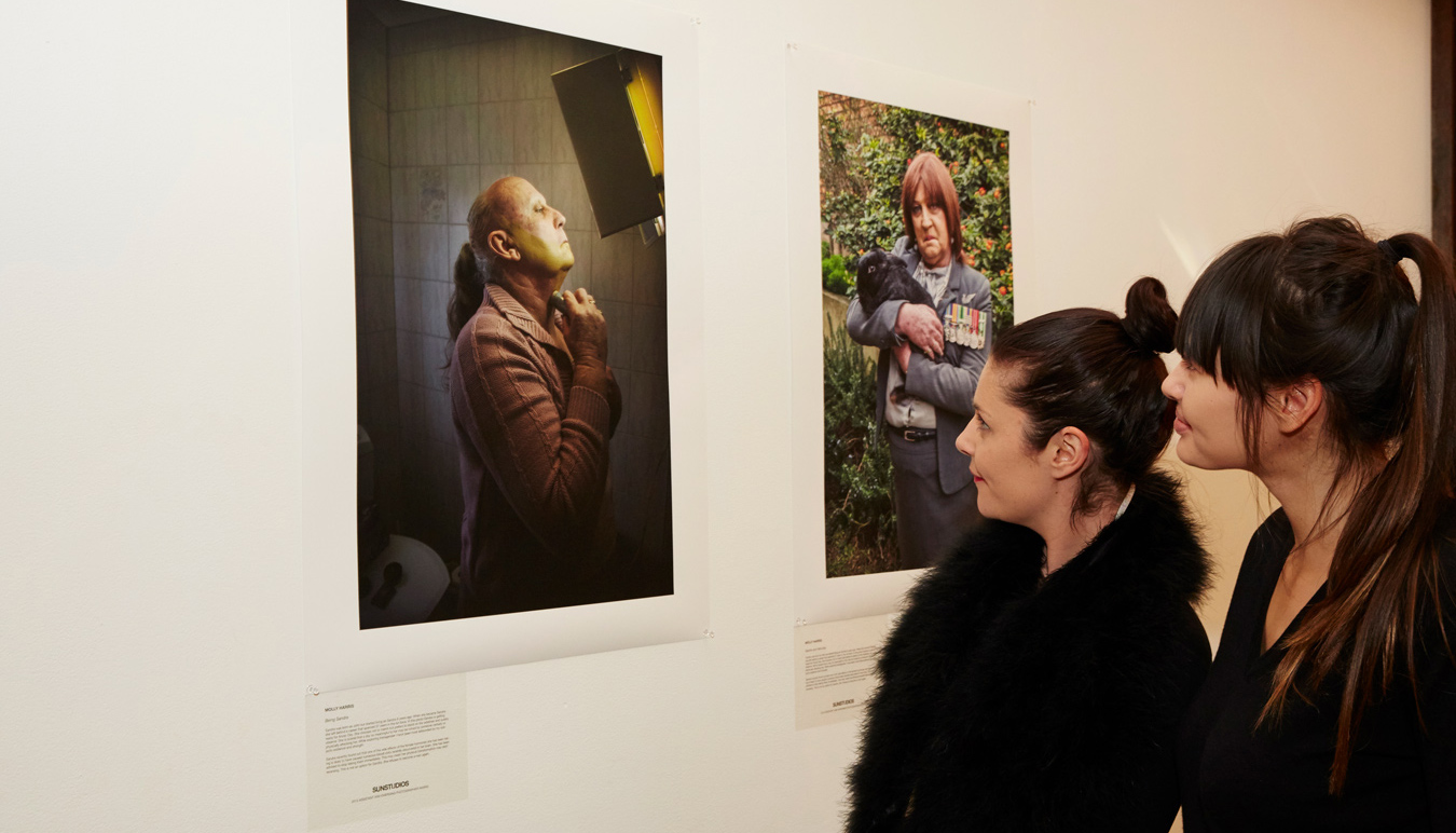 Sydney photography studio, SUNSTUDIOS, hosts it's annual Emerging Photographer Award exhibition.