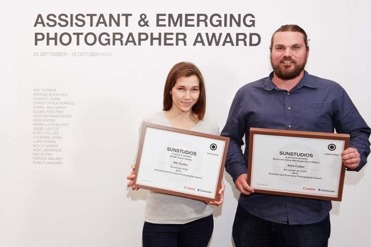 SUNSTUDIOS Emerging Photographer Award Opening Night 2015