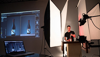 Lessons in Light: Wine Bottle workshop