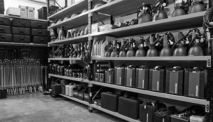 SUNSTUDIOS equipment hire