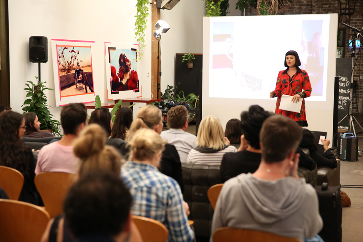 Sydney photographer Georges Antoni holds a sold out seminar at SUNSTUDIOS Sydney in 2014
