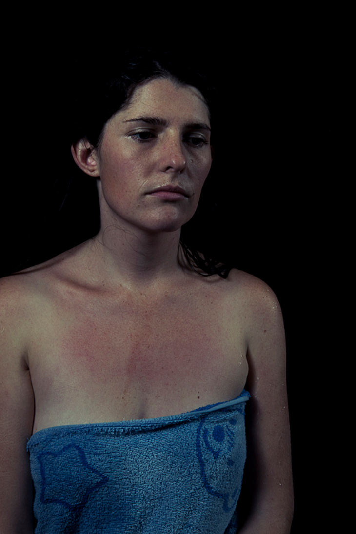 Stephanie Simcox, SUNSTUDIOS staff member's finalist entry in the National Photographic Portrait Prize.