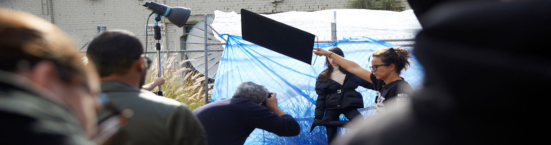 Behind the scenes of Let There Be Light outdoor workshop with Sydney photographer Georges Antoni