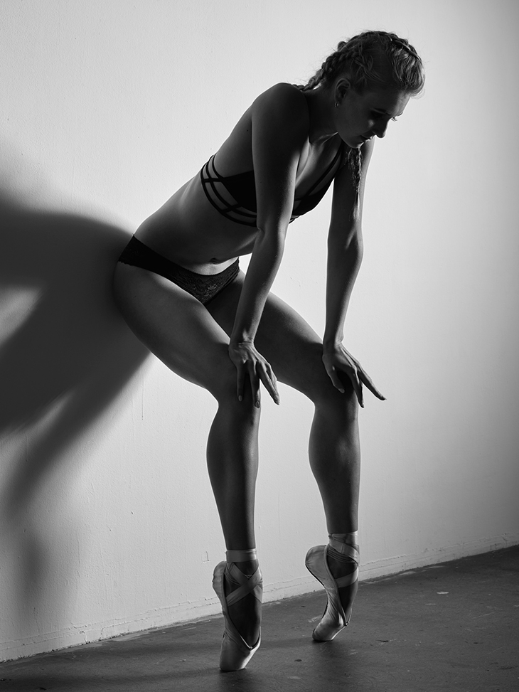 Dancer Maddie Peat photographed by Simon Everiss