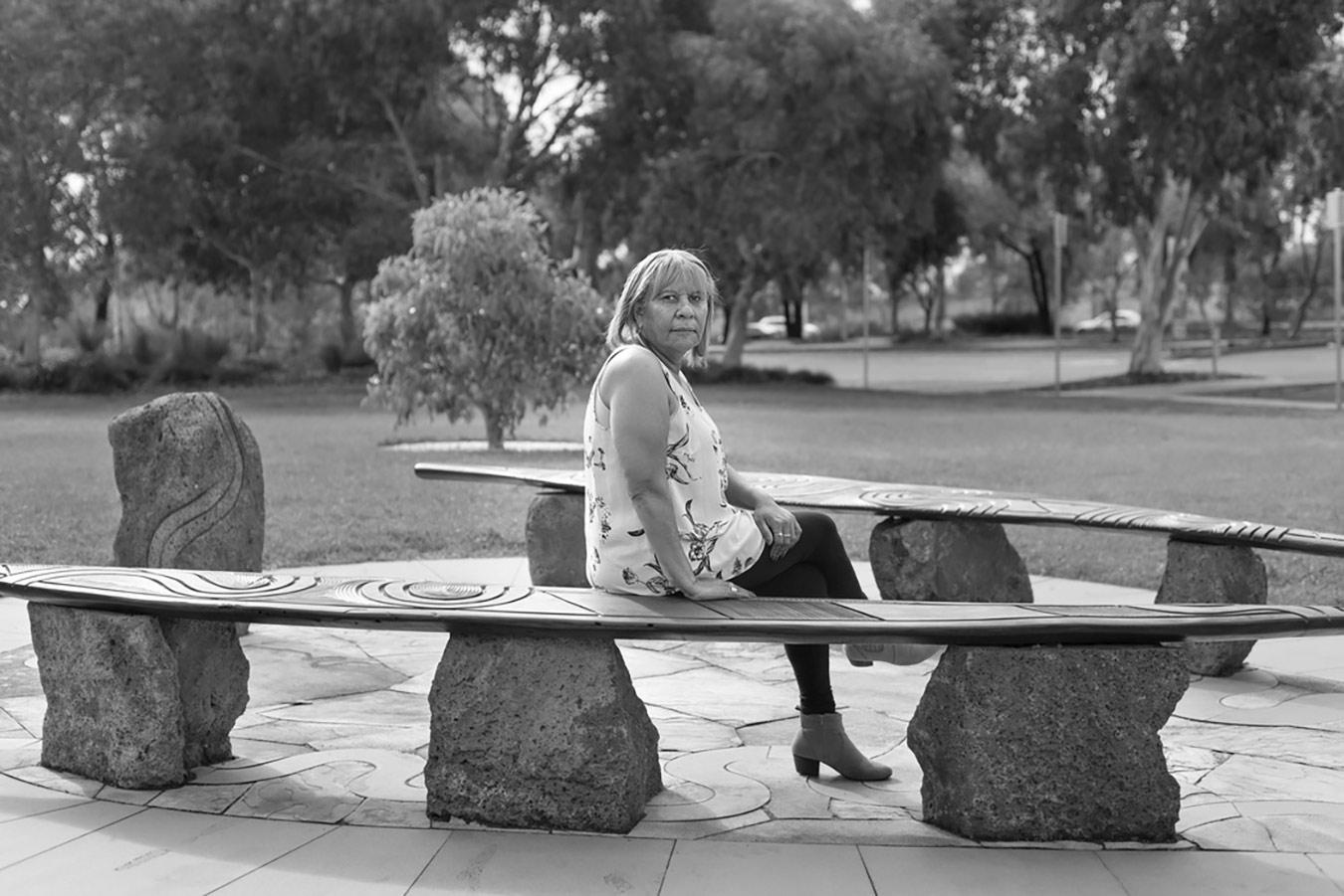 Eav Jo Edwards from the series Yumarrala Ngulu by Devika Bilimoria (with Ondru)