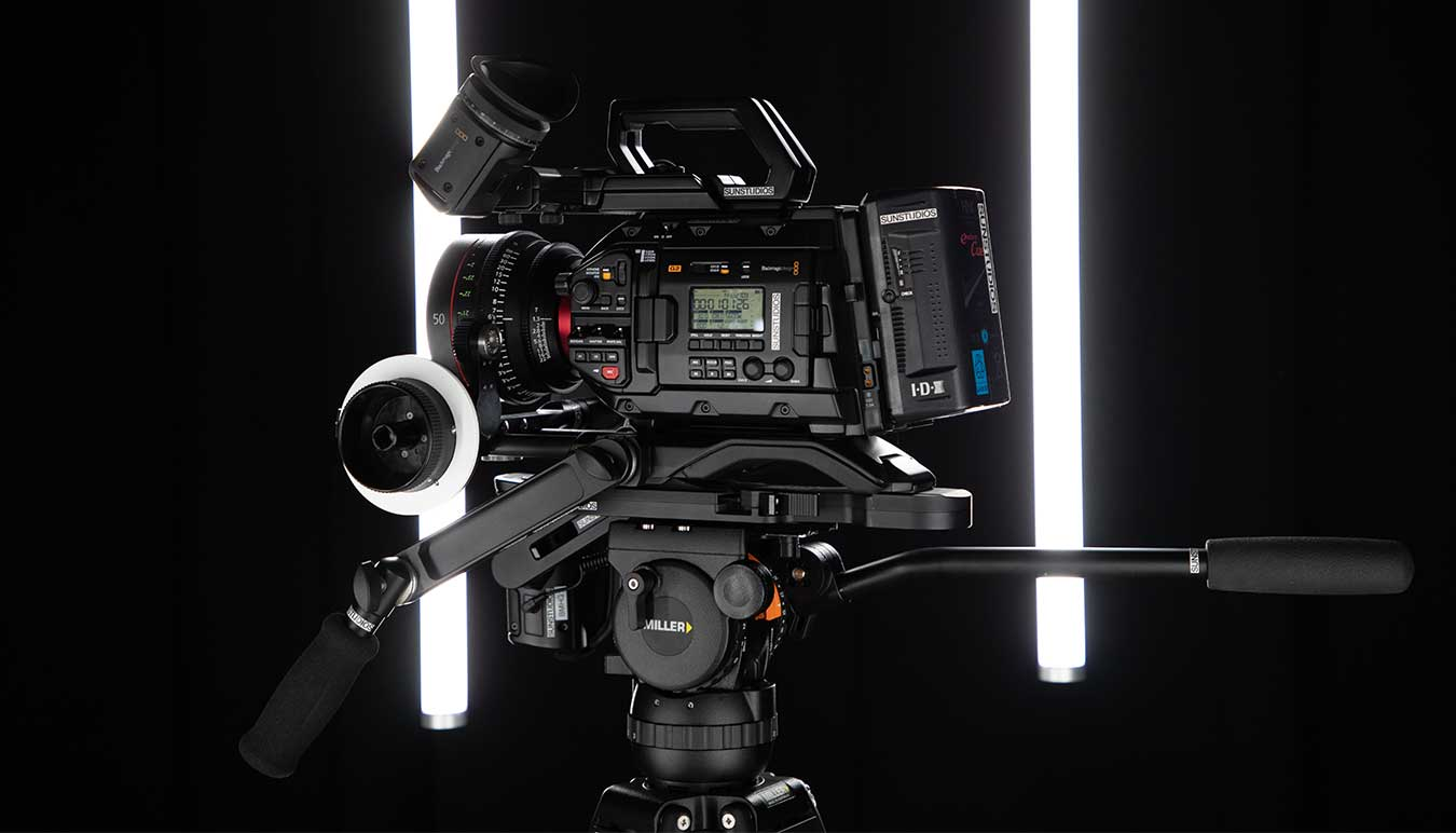 BLACKMAGIC URSA MINI PRO G2 KIT by Daniel Congerton.
