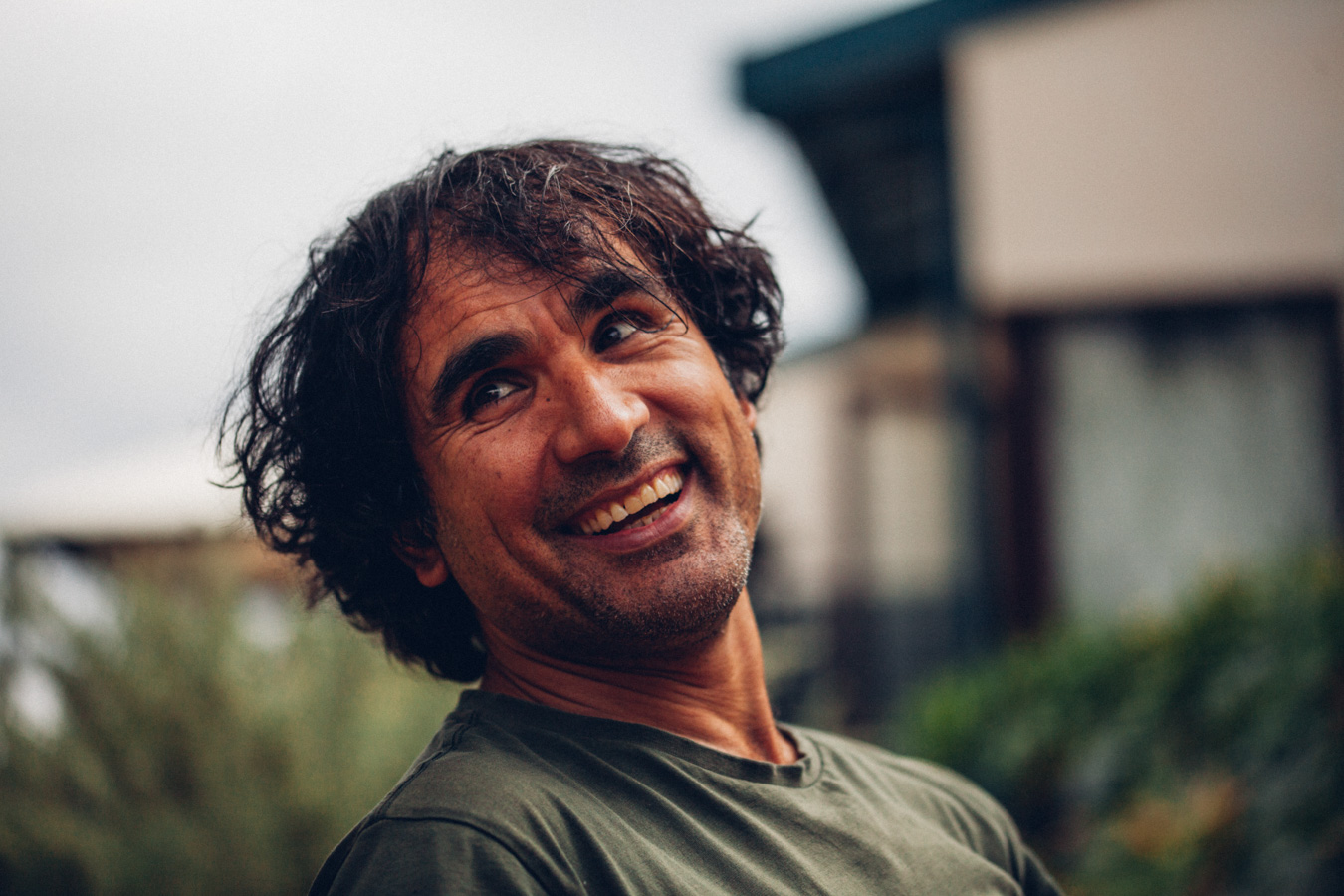 Arad Niksefat, the subject of the documentary Persia's Pantry, filmed and produced by Daniel Njegich.