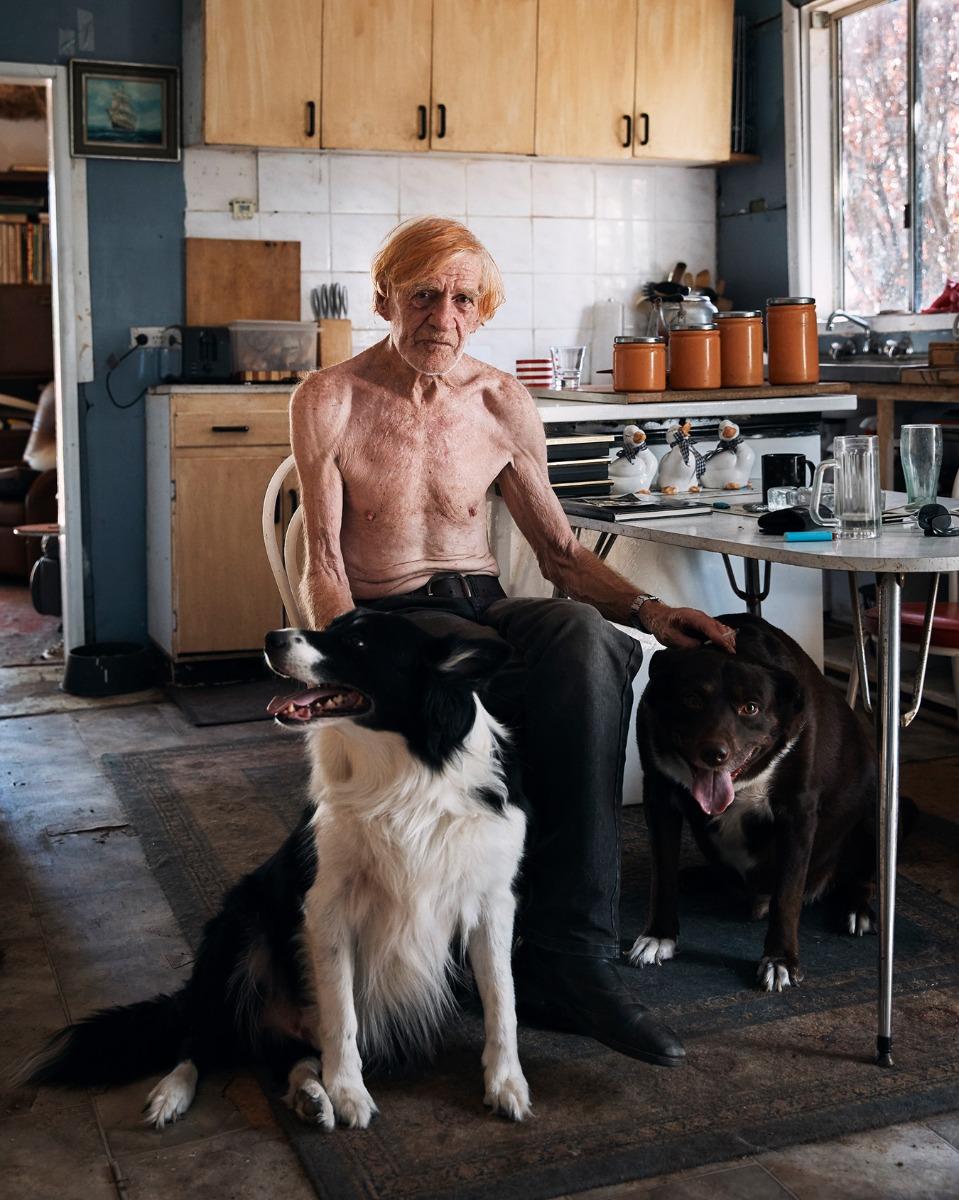 'Tony' by Joel Pratley was a finalist in the 2019 Head On Portrait Prize.