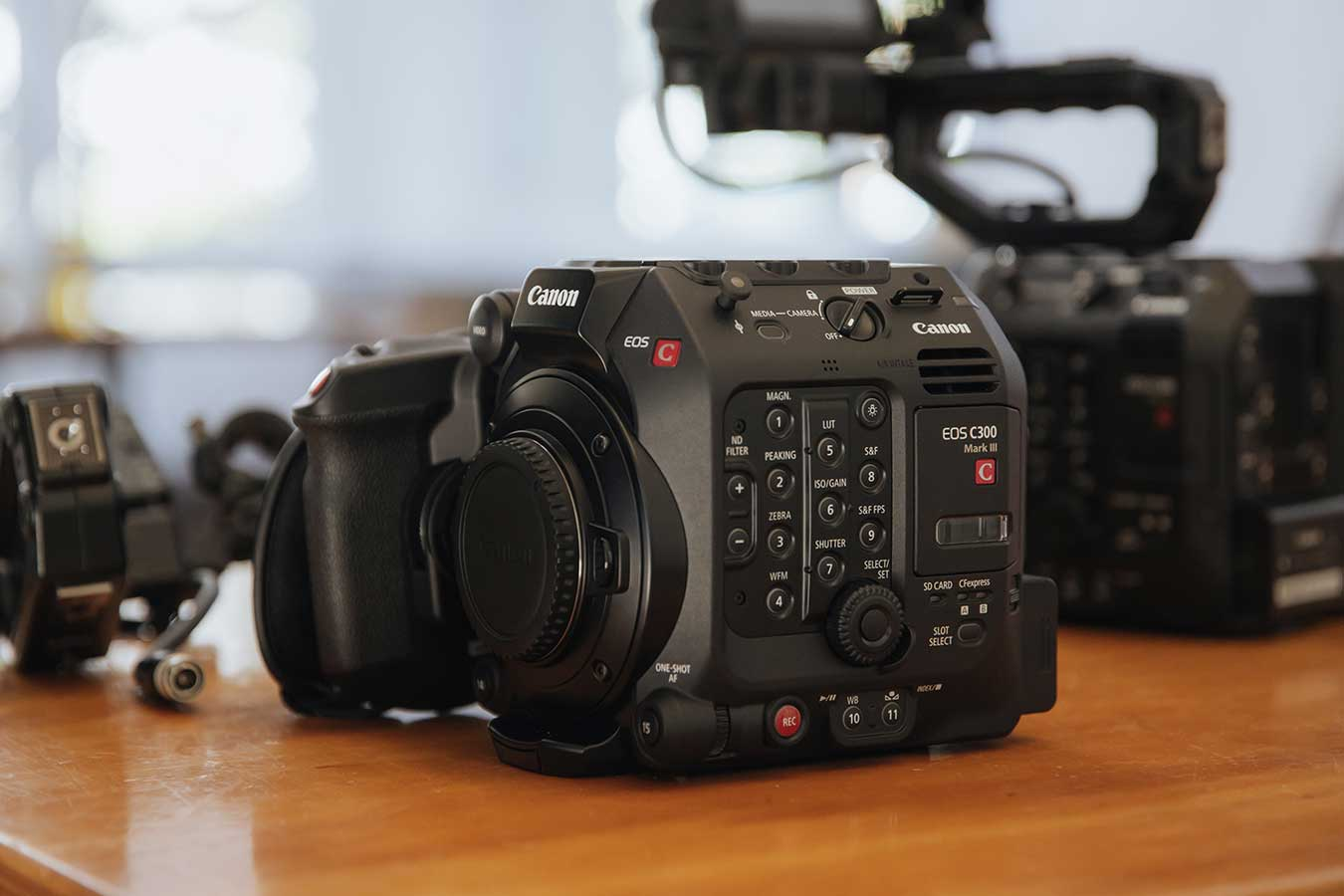 The Canon C300 Mark III launches today