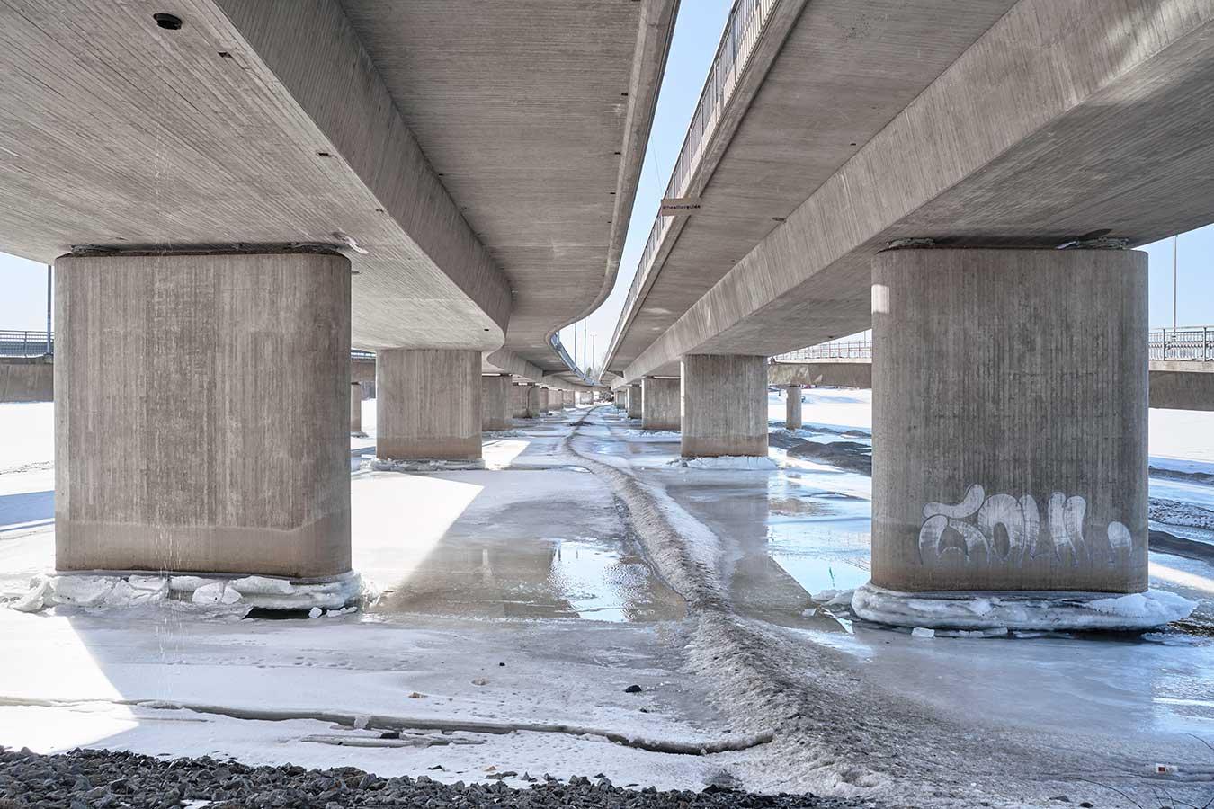 Under The Overpass. Umeå, Sweden by Steve Greenaway