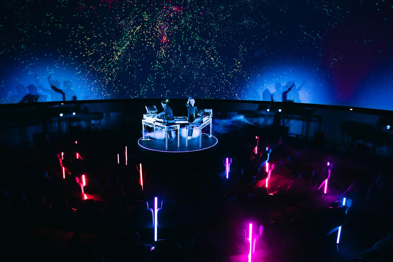 band-the-avalanches-perform-amidst-space-projection-at-melbourne-planetarium-image-by-liam-pethick-for-mushroom-creative