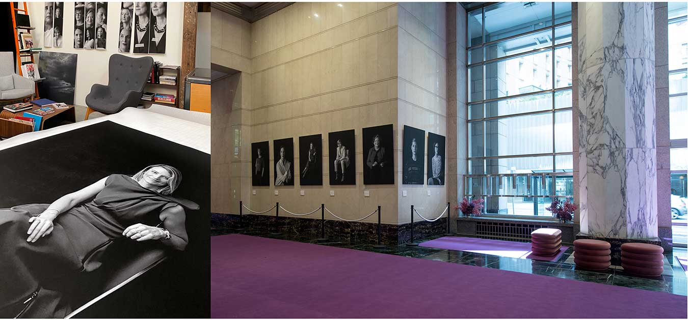 images-depicting-photographer-nick-bowers-the-female-lead-exhibition-in-chifley-tower-sydney