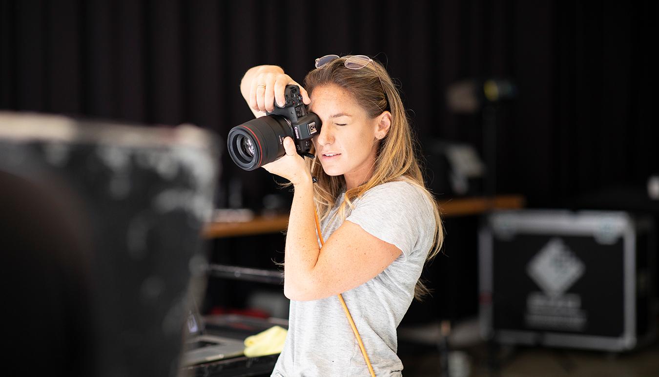 Emily Abay shoots Canon EOS R Sun Studios Sydney Fashion Photography