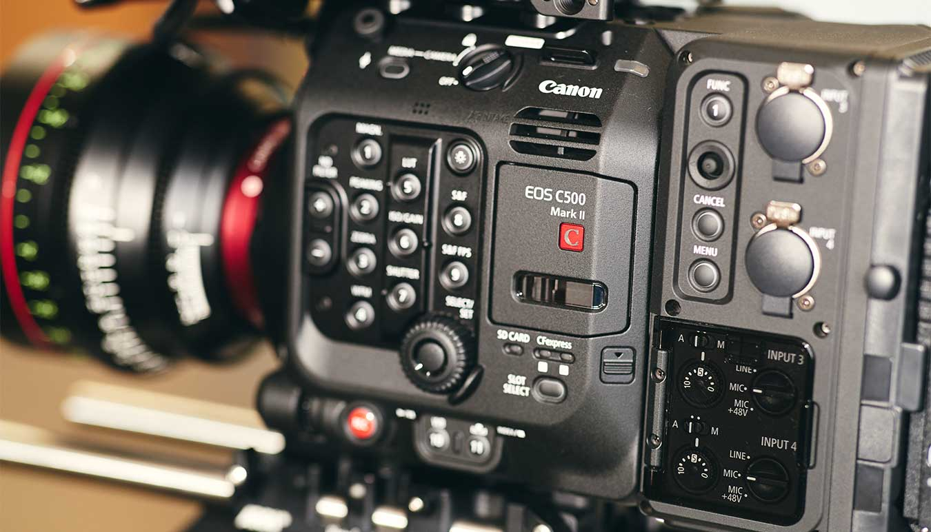 detail-of-the-canon-eos-c500-mark-ii-showing side-button-panel