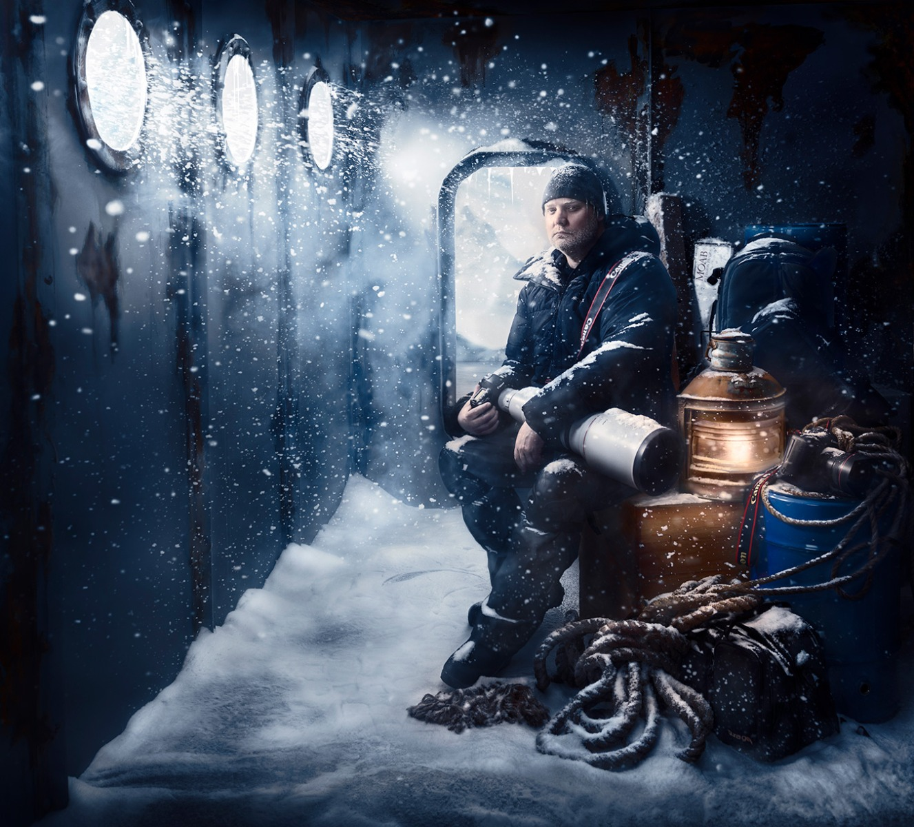 Polar Photographer Joshua Holko.