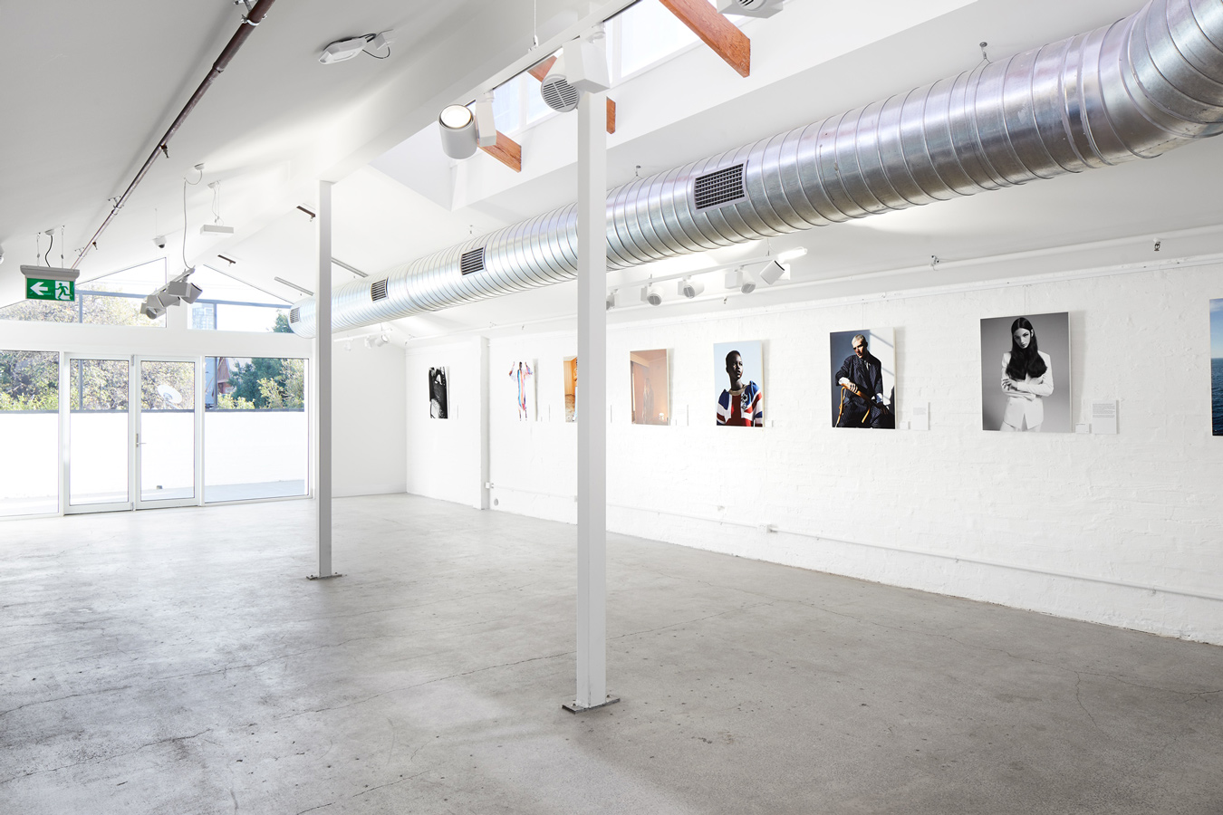 SUNSTUDIOS Melbourne Skylight Gallery professional photography exhibition space for hire