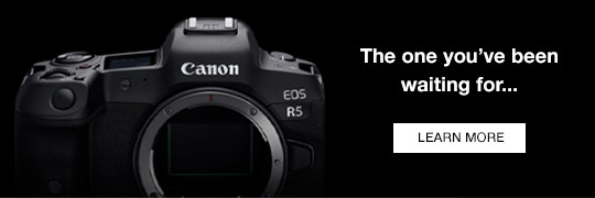 Canon R5 camera news and announcements